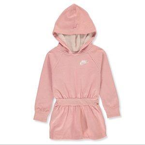Nike sparkly cute hoodie dress 2098